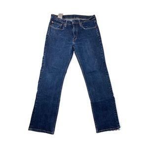 Levi Strauss & Co Dark Wash Straight Leg Jeans Size 34x30
